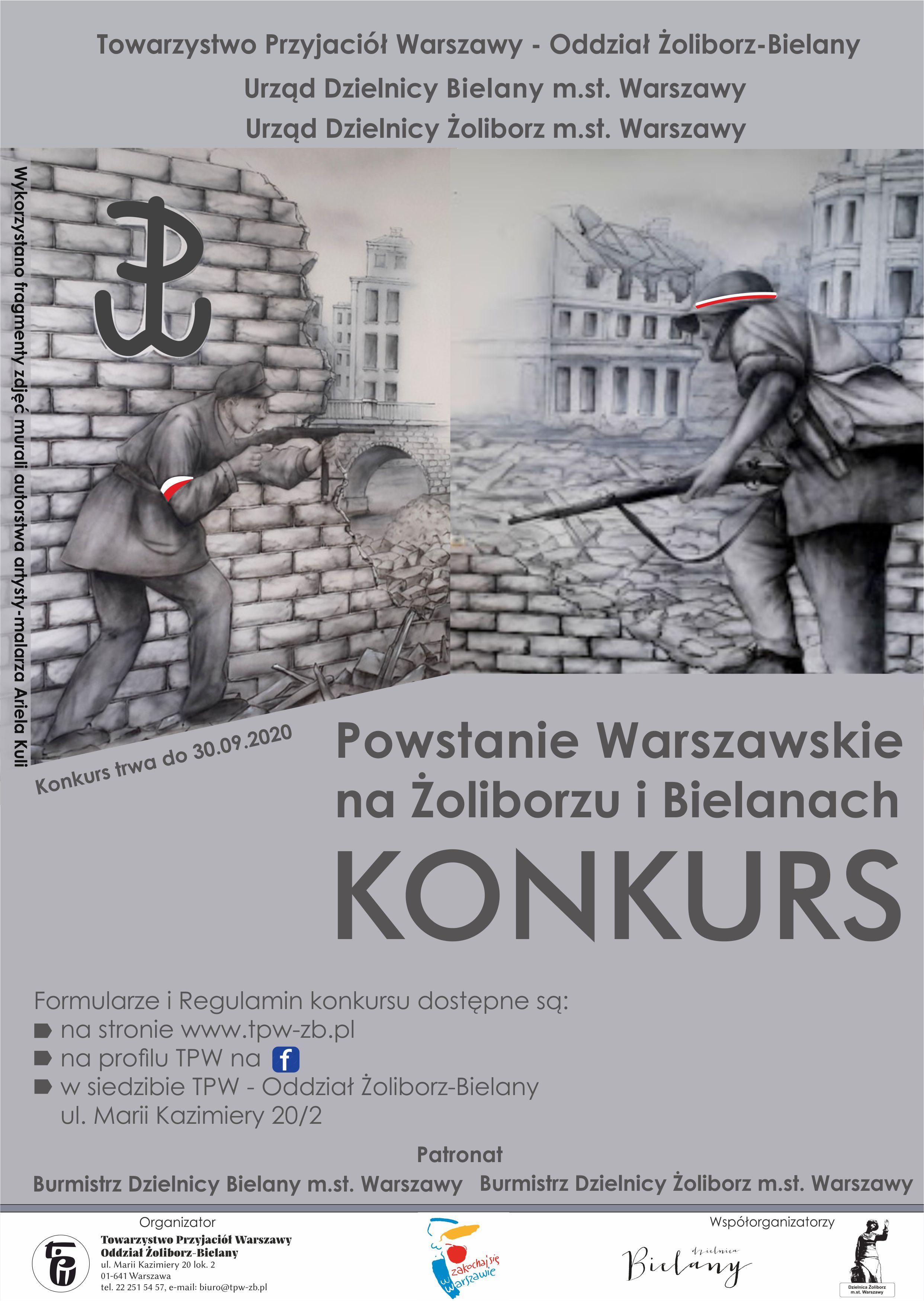 Konkurs Powstanie WArszawskie
