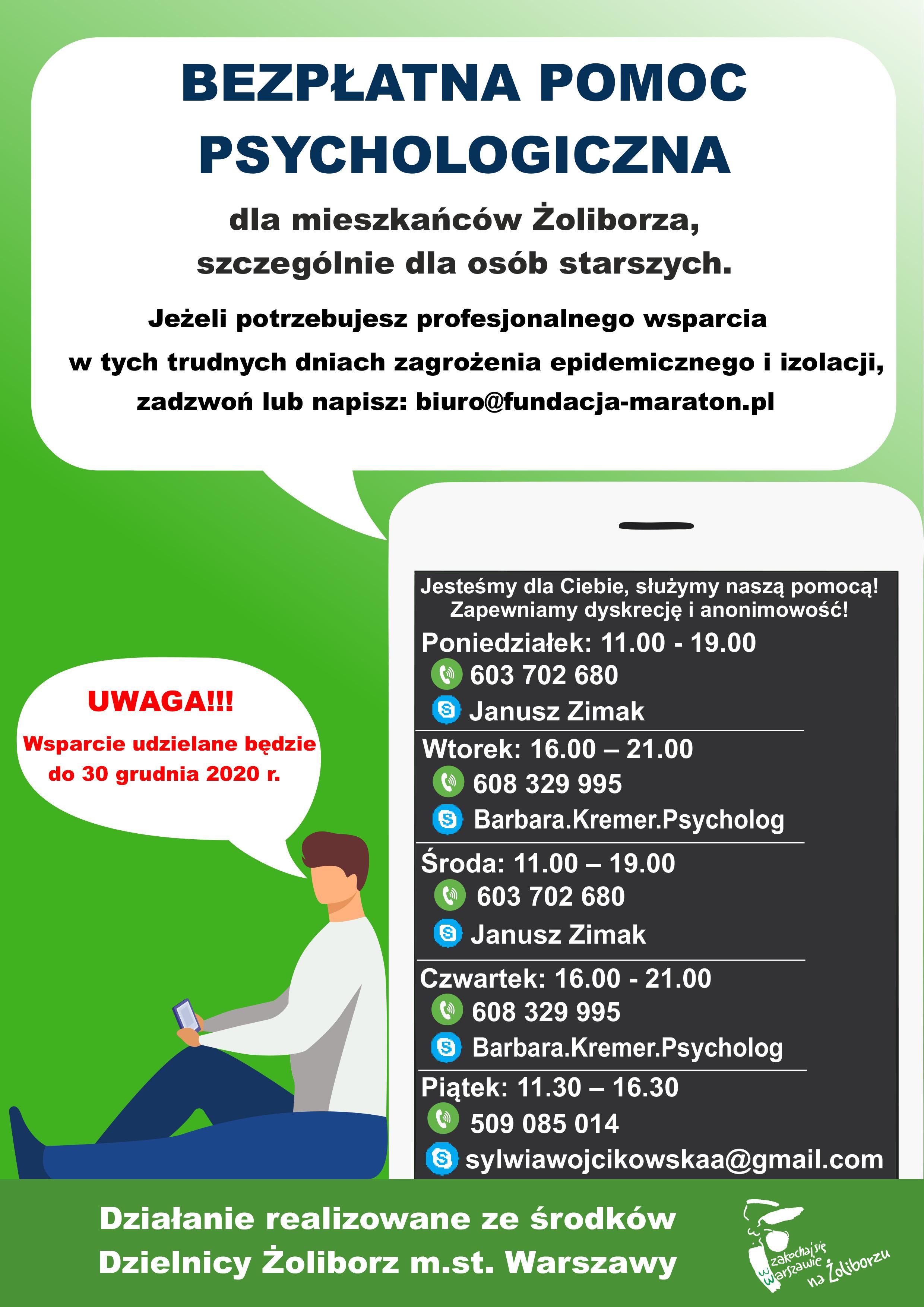 Numer pomocy psychologicznej dla seniorów 603 702 680